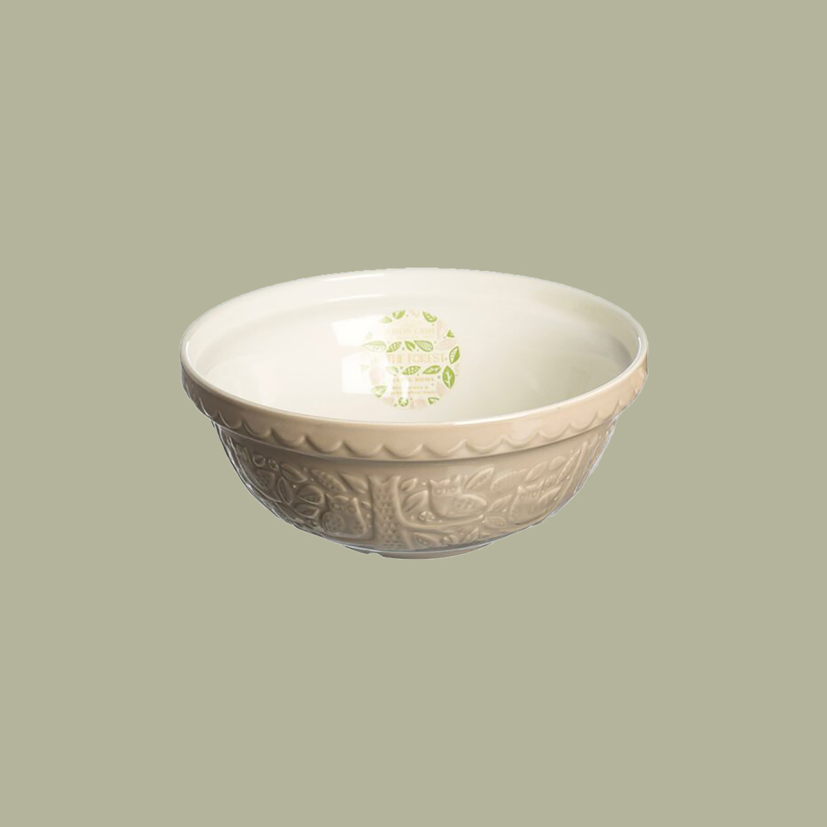 mason cash forest embossed mixing bowl