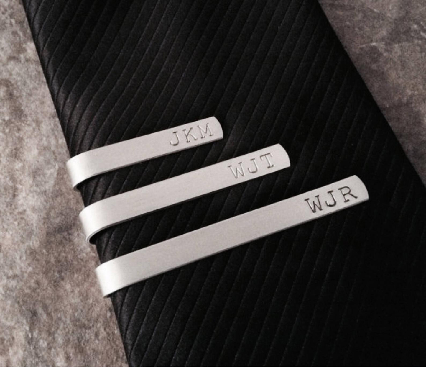 321 Simple Creations Personalized Tie Bar
