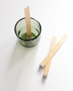 diy tea scented candle step 1