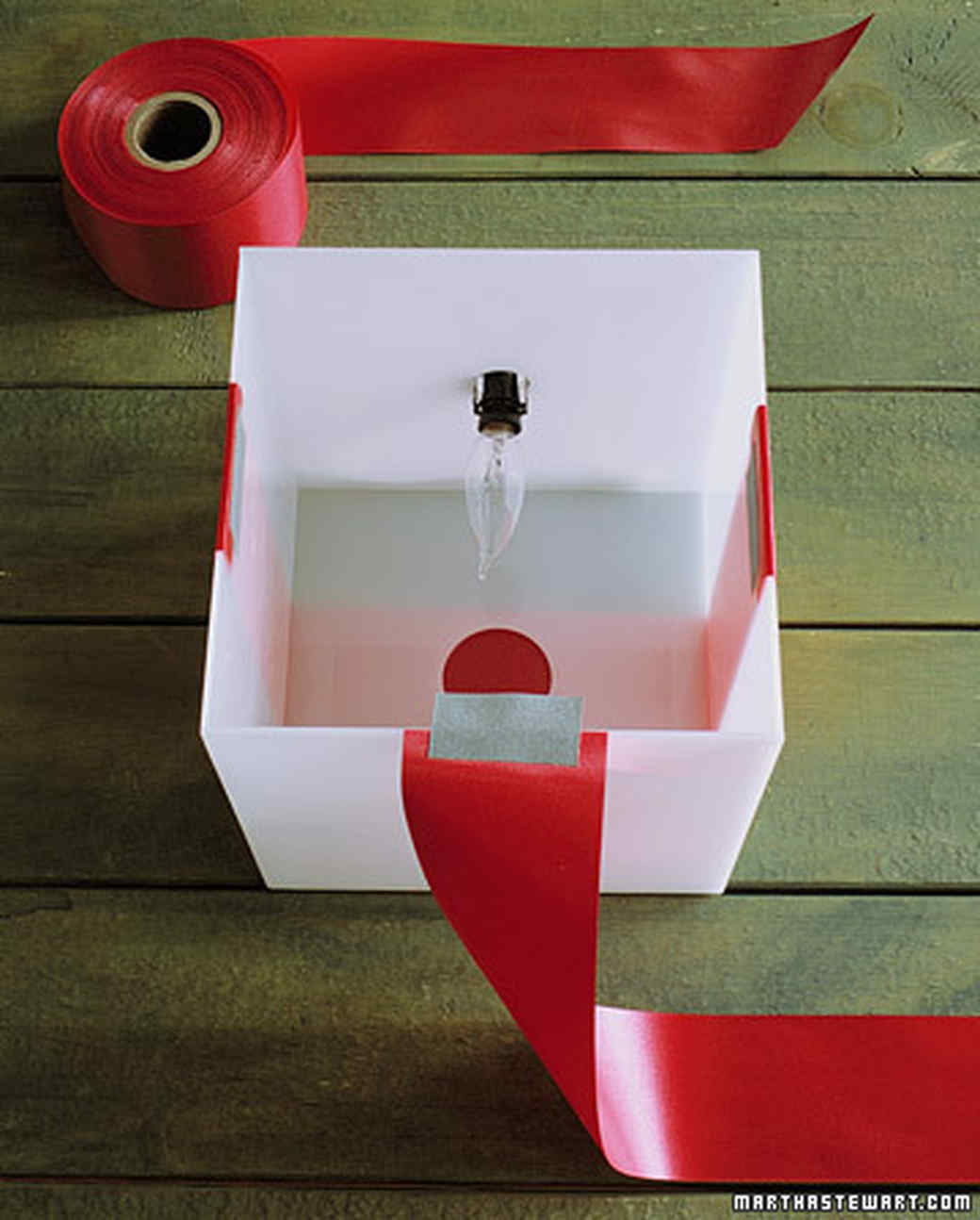 Glowing gift boxes how-to.