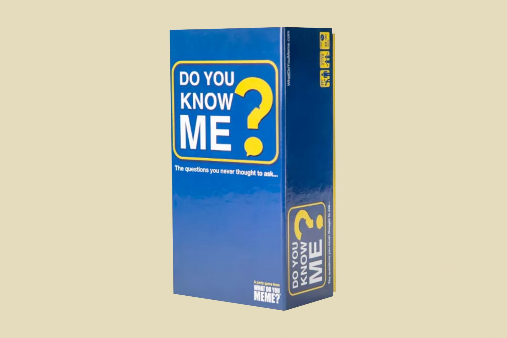 adult board game do you know me