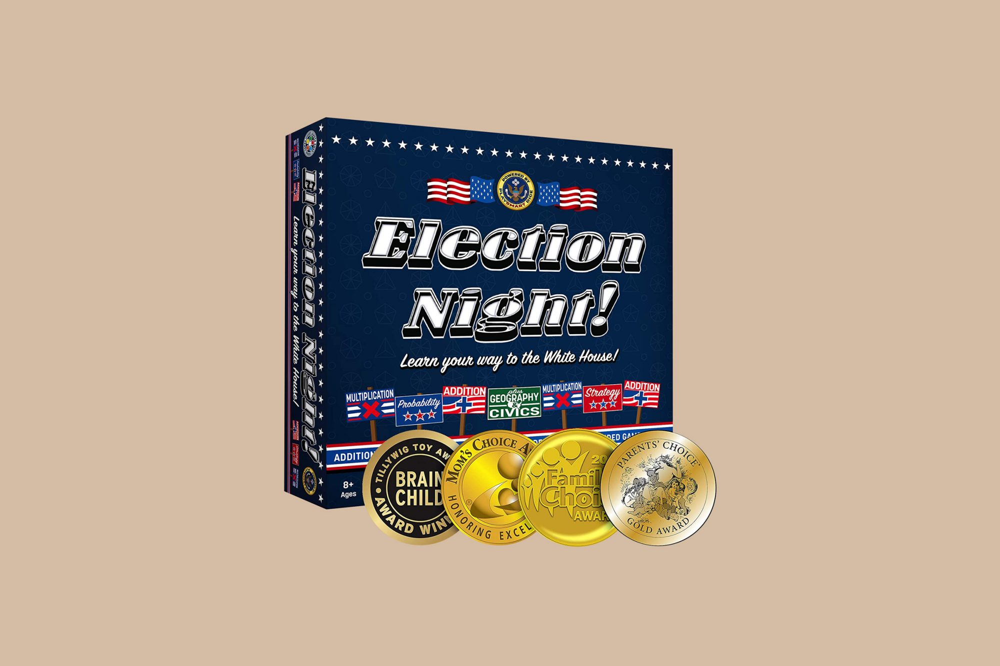 adult board game election night