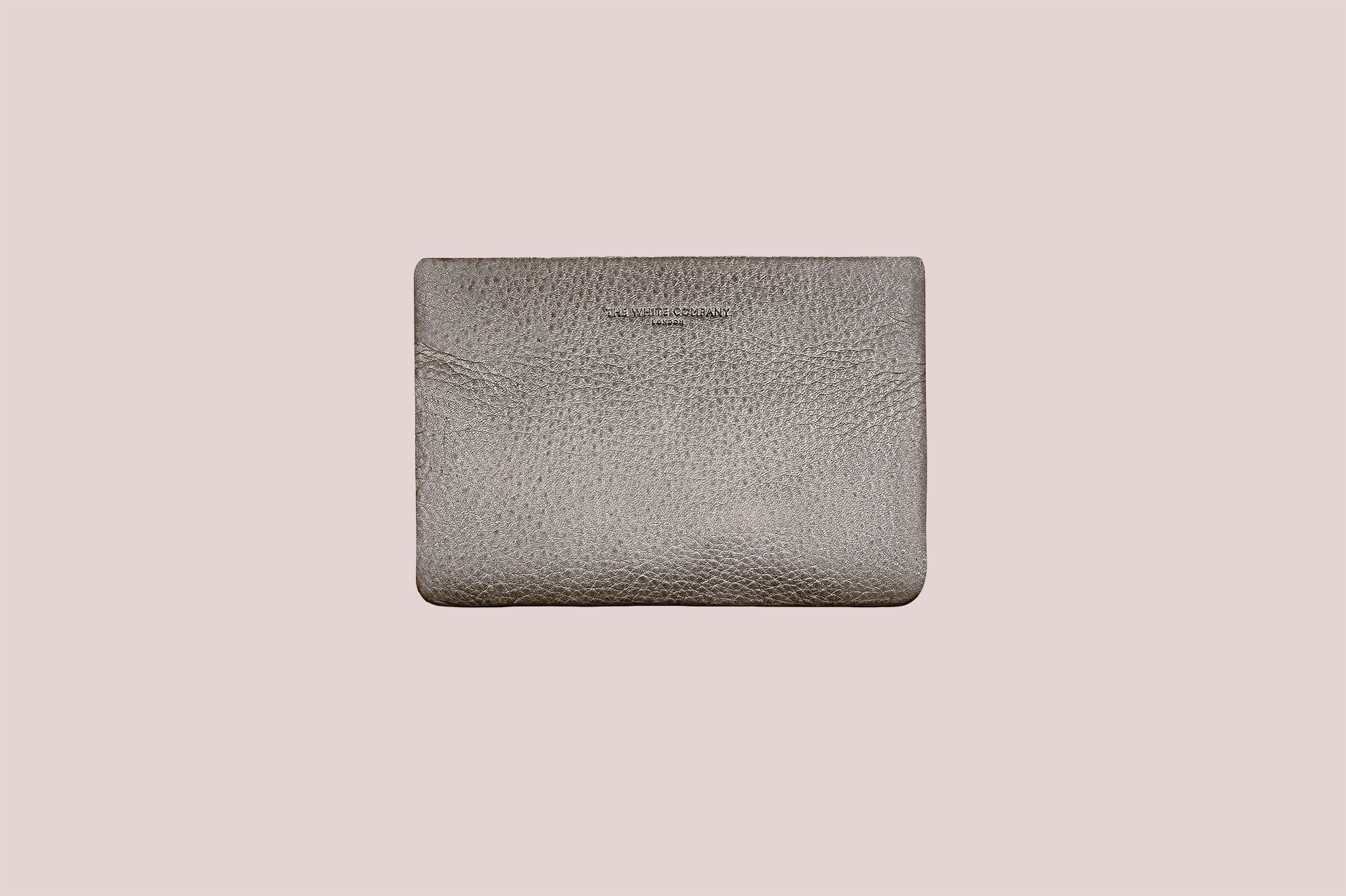 The White Company Leather Coin Pouch in Bronze
