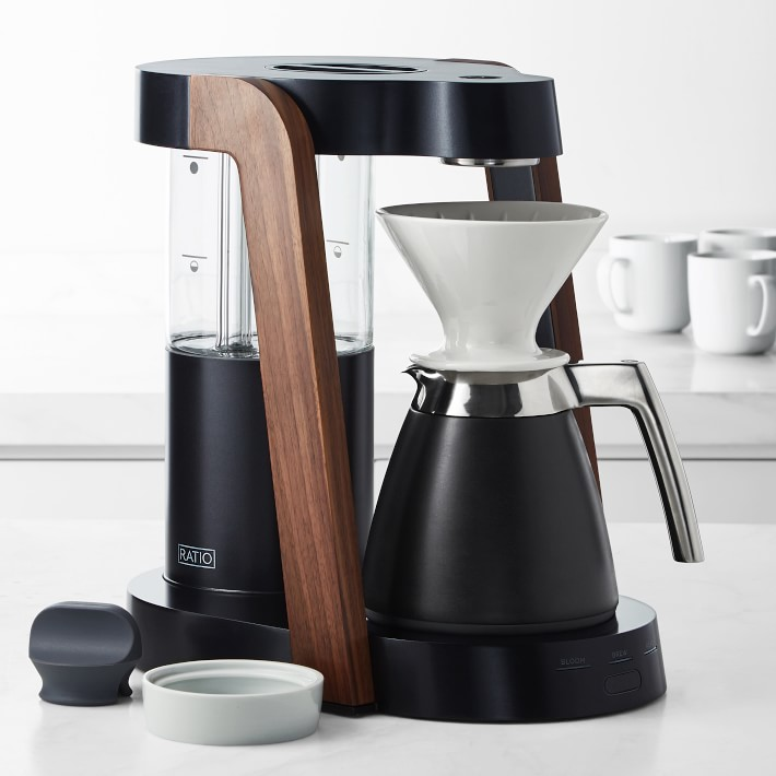 """Ratio Eight """"Cobalt"""" Coffee Maker and Thermal Carafe"""