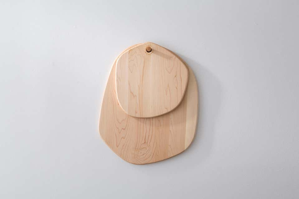 Fort Makers Maple Hexagon Pebble Cutting Board