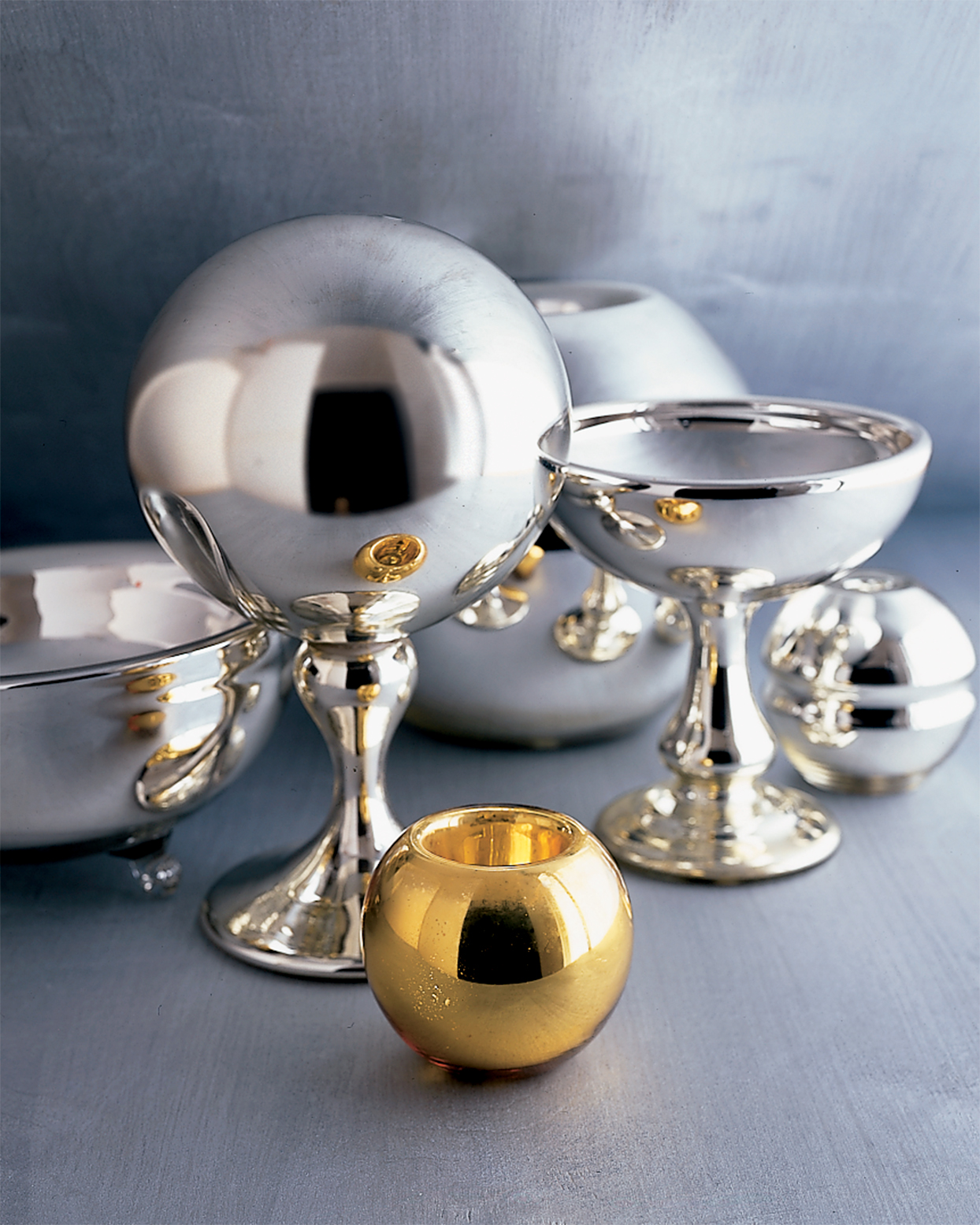 mercury glass collection