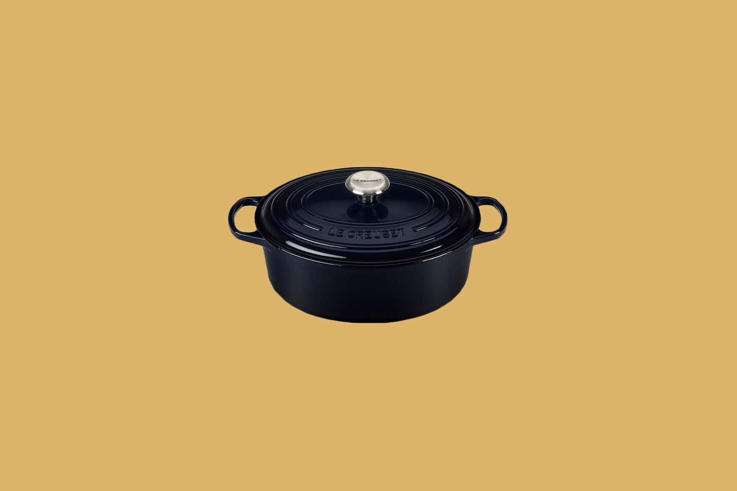 Le Creuset Five-Quart Oval Dutch Oven in Cosmos