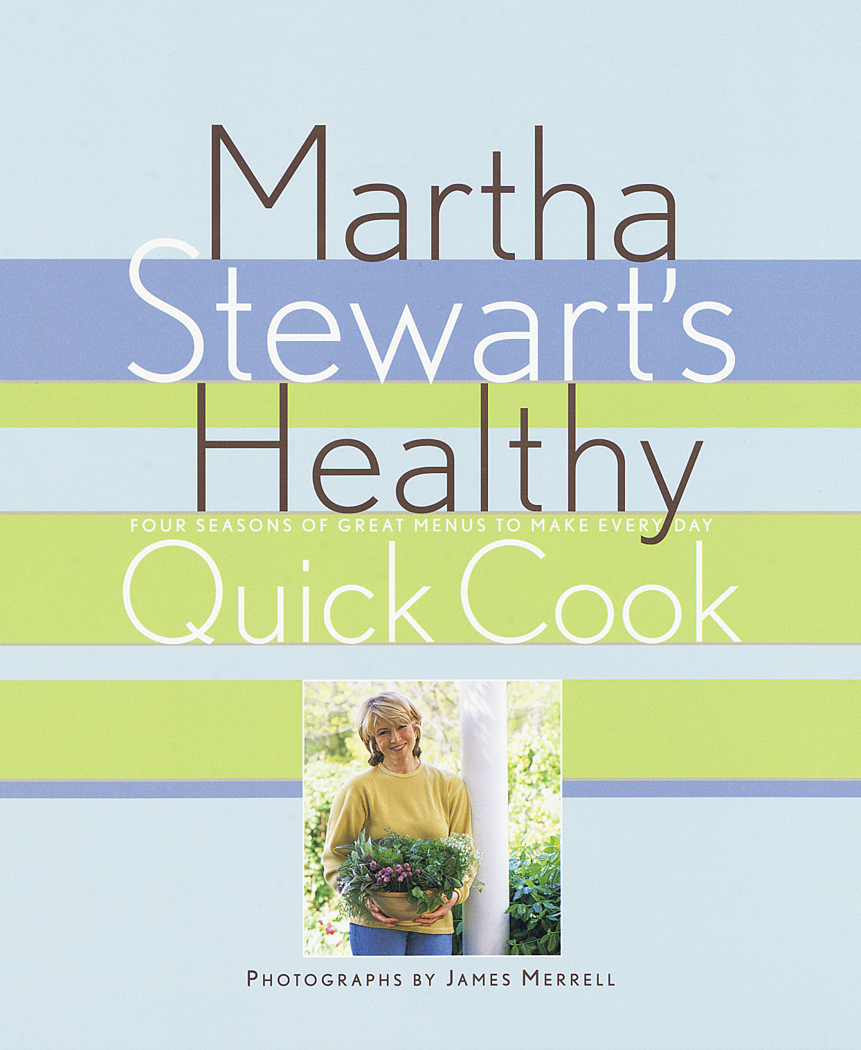 Martha Stewart's Healthy Quick Cook 1997 book cover