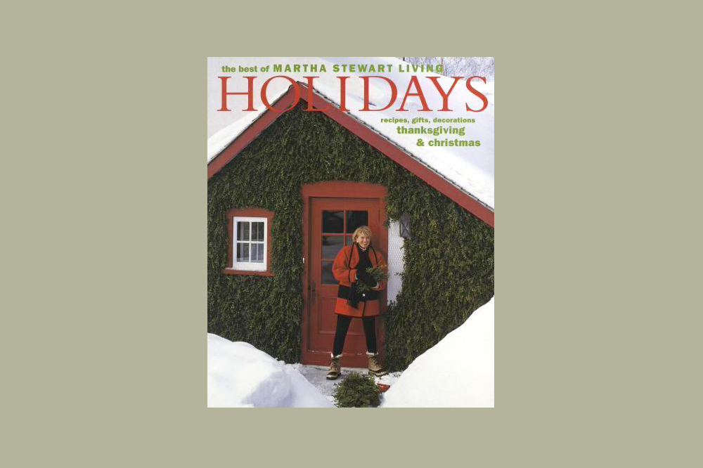 The Best of Martha Stewart Living Holidays 1994 book cover