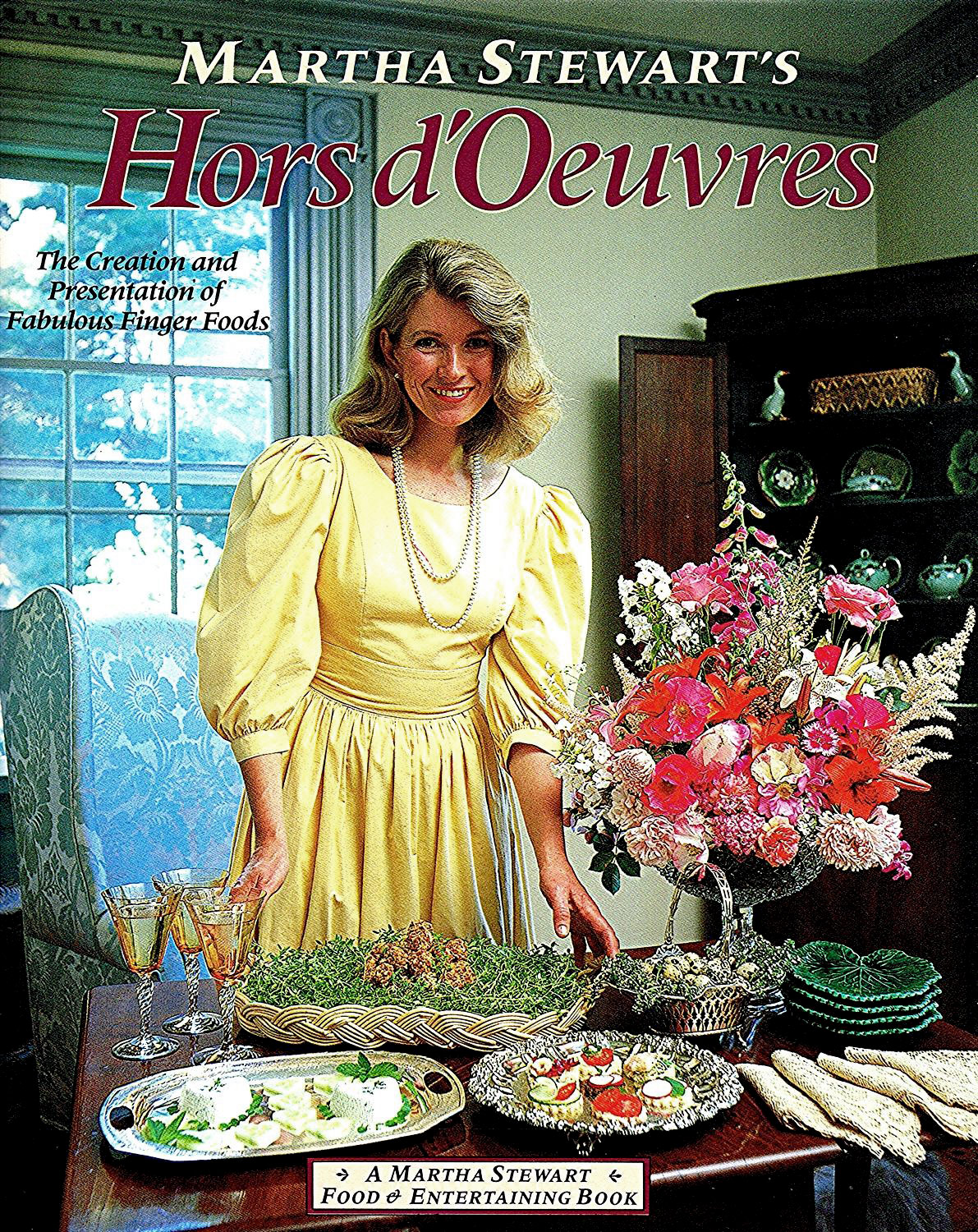 Martha Stewart's Hors D'Oeuvres 1984 book cover