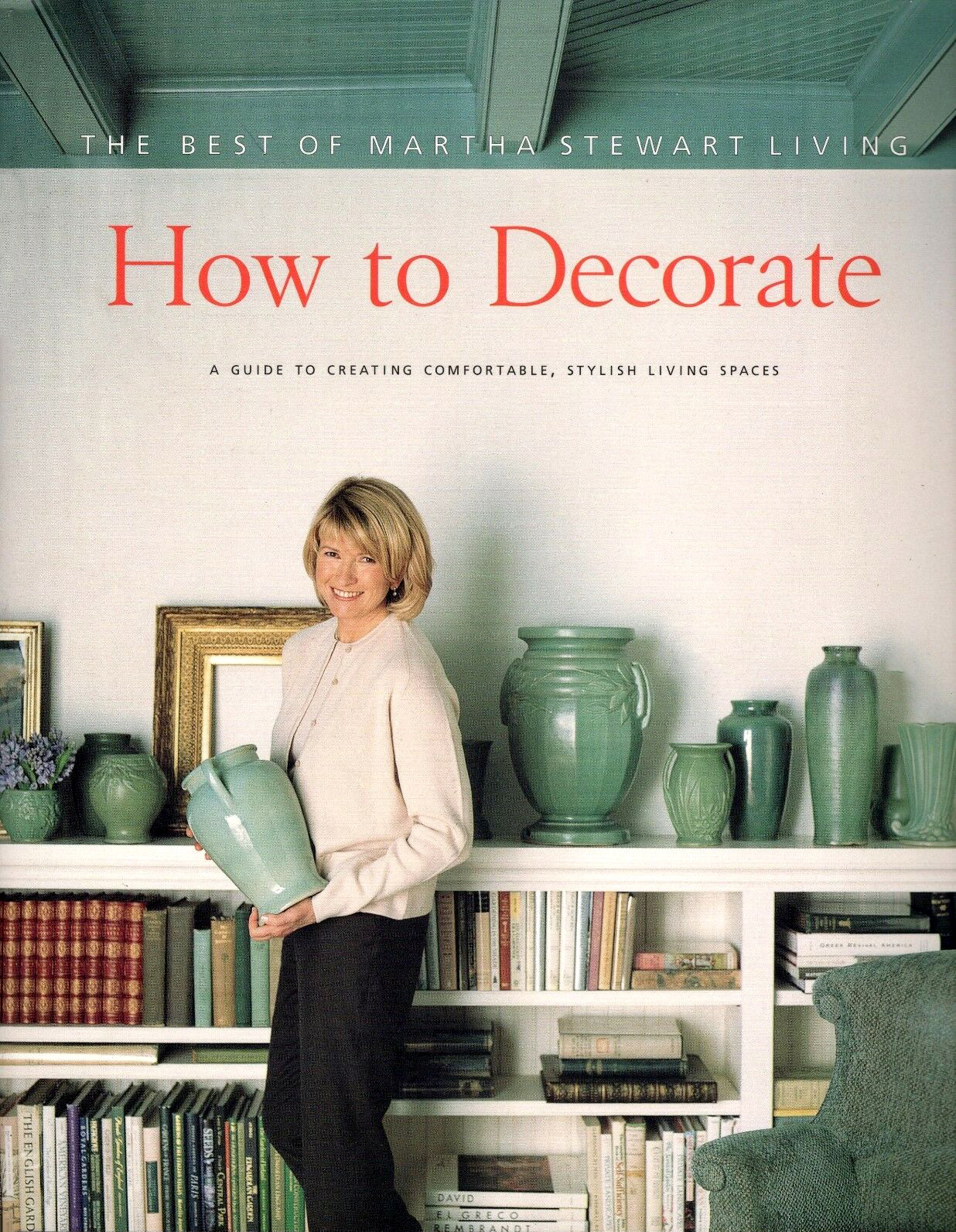 The Best of Martha Stewart Living How to Decorate 1996 book cover