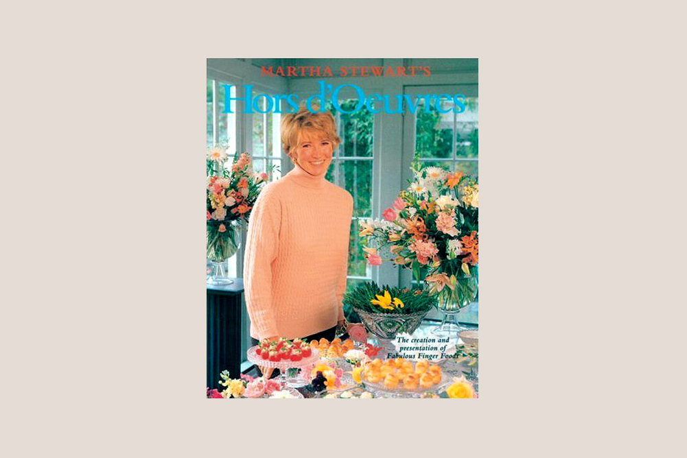 Martha Stewart's Hors D'Oeuvres 1992 book cover