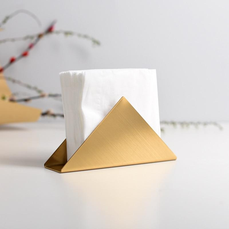 Fint Designs Golden Napkin Holder