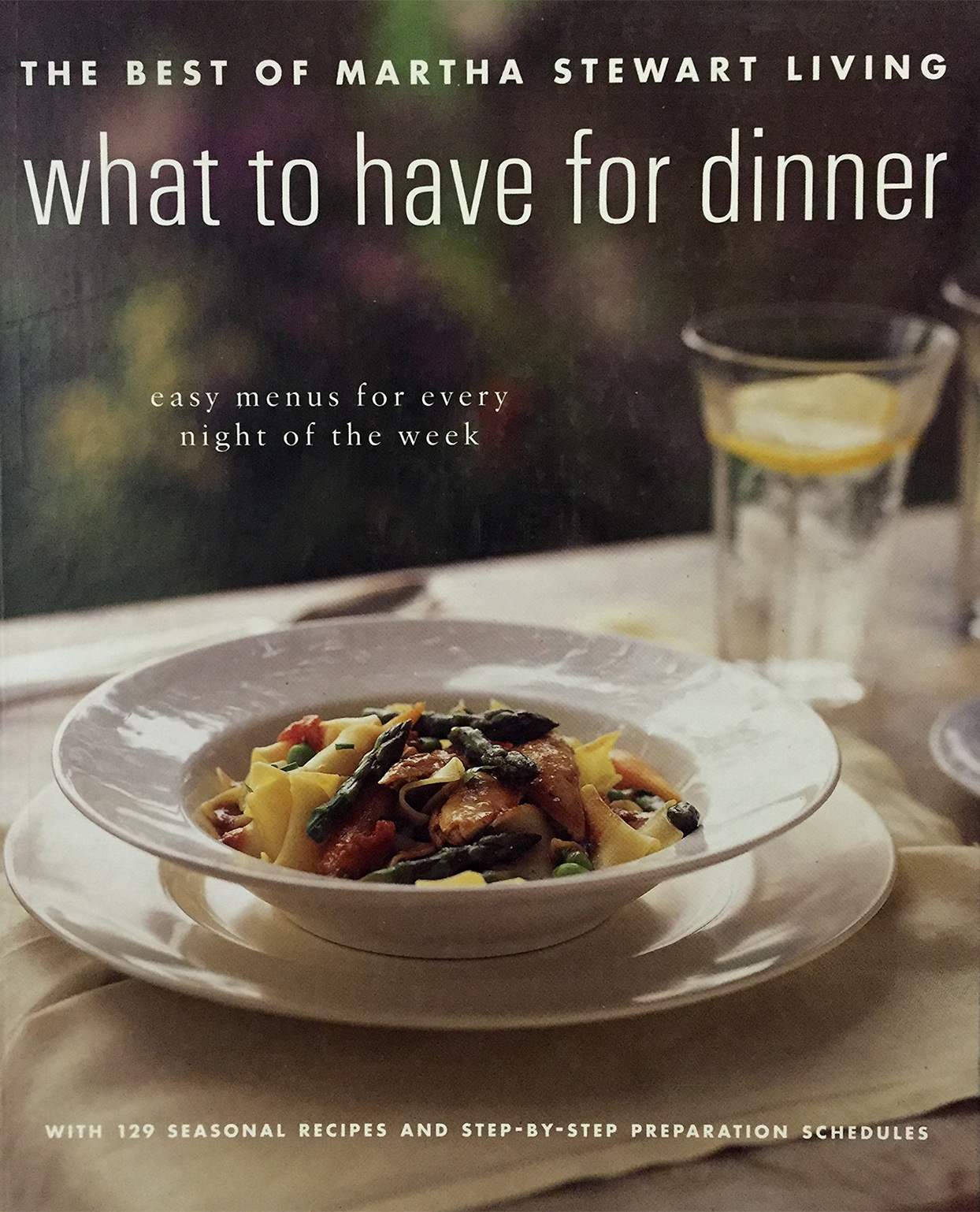 What to Have for Dinner book