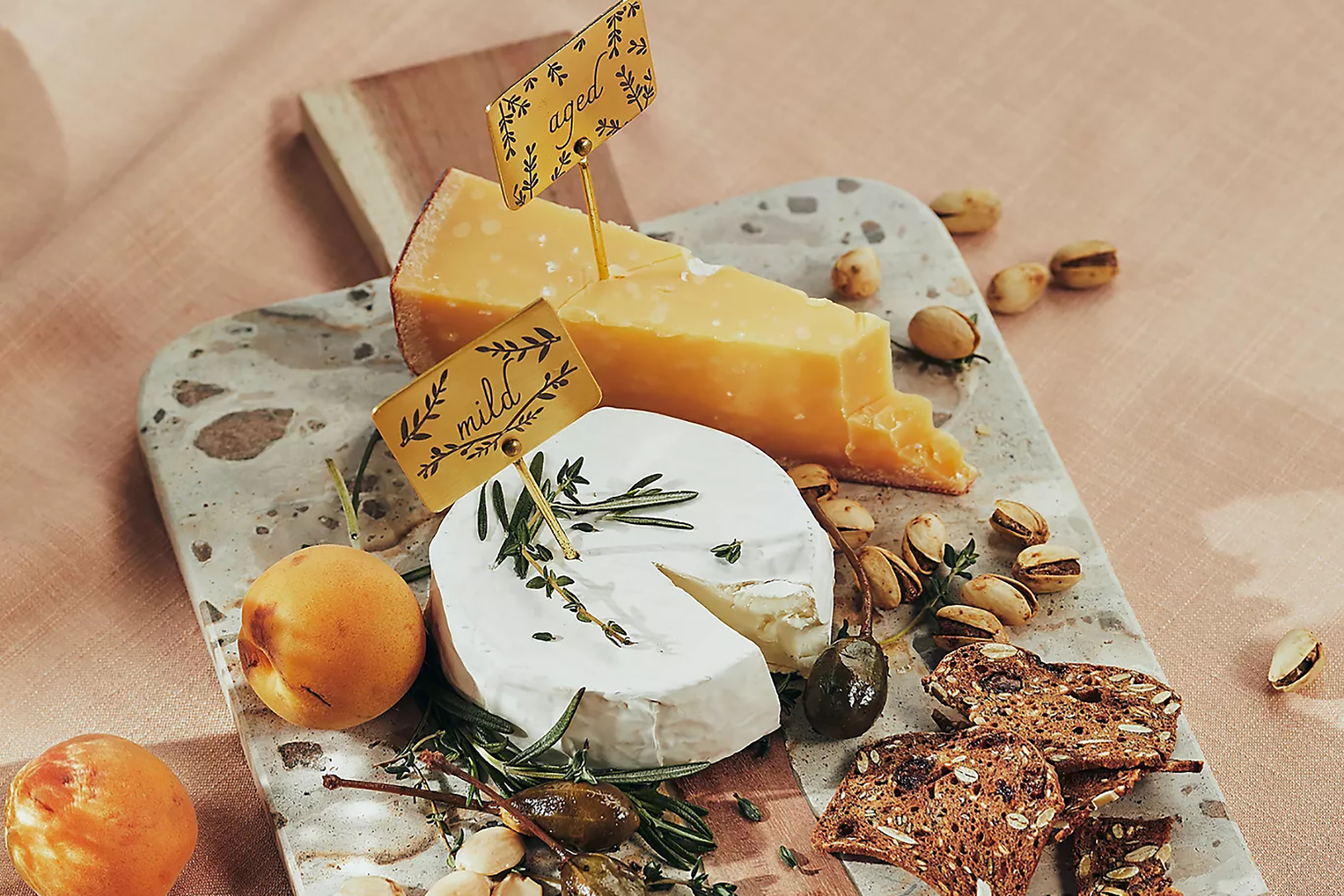 anthropologie cheese plate