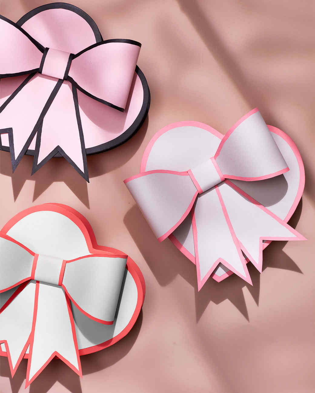 handmade heart shaped boxes with bows