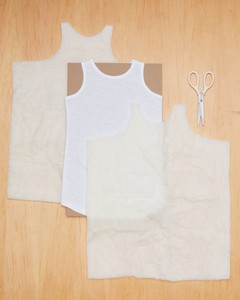 lamb costume how-to step