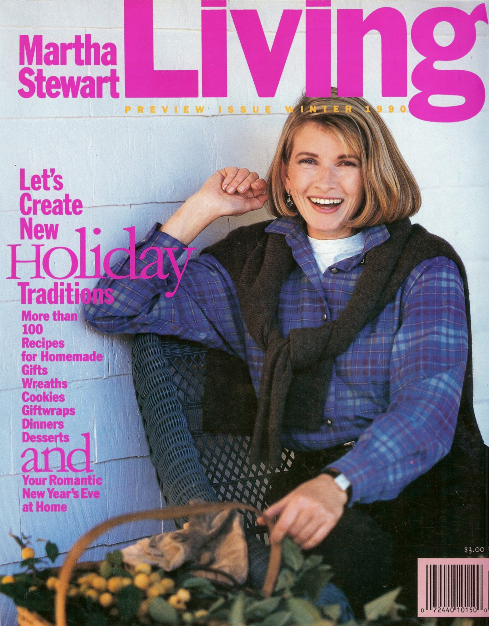 martha stewart living first cover