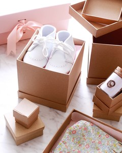 baby booties for a baby keepsake box