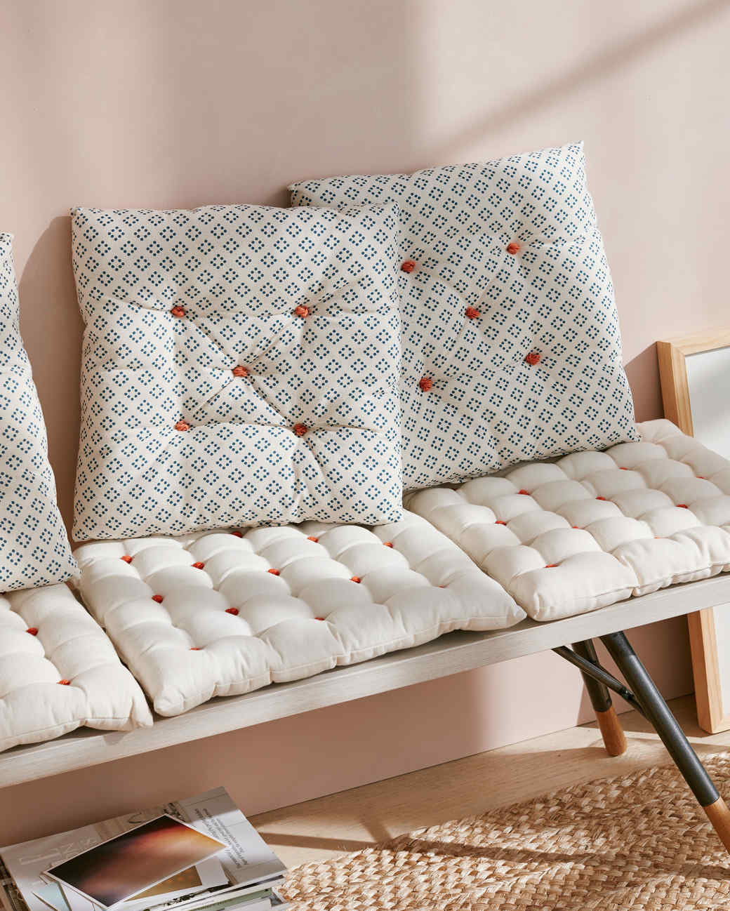 tufted bench cushions