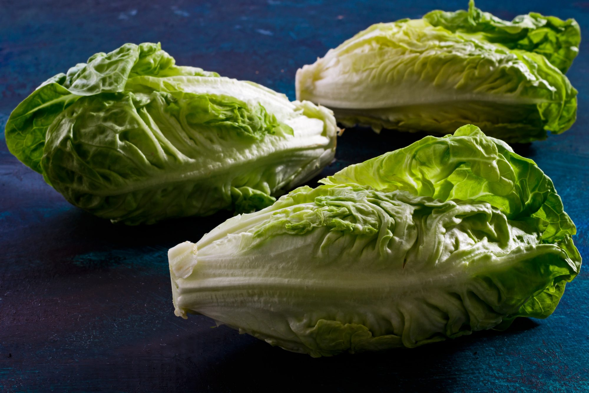 bunches of romaine lettuce
