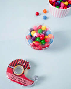 mini gum ball machine party favor how to