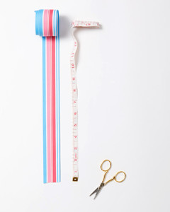ribbon candy ornaments measuring