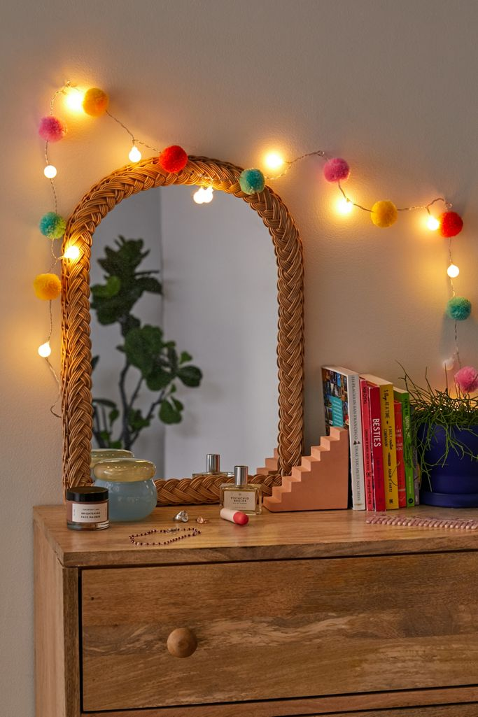Urban Outfitters Pompom LED String Lights