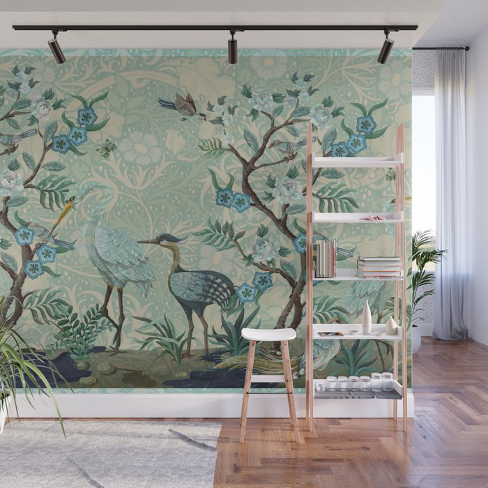 Megan Steer The Chinoisorie Panel Wall Paper