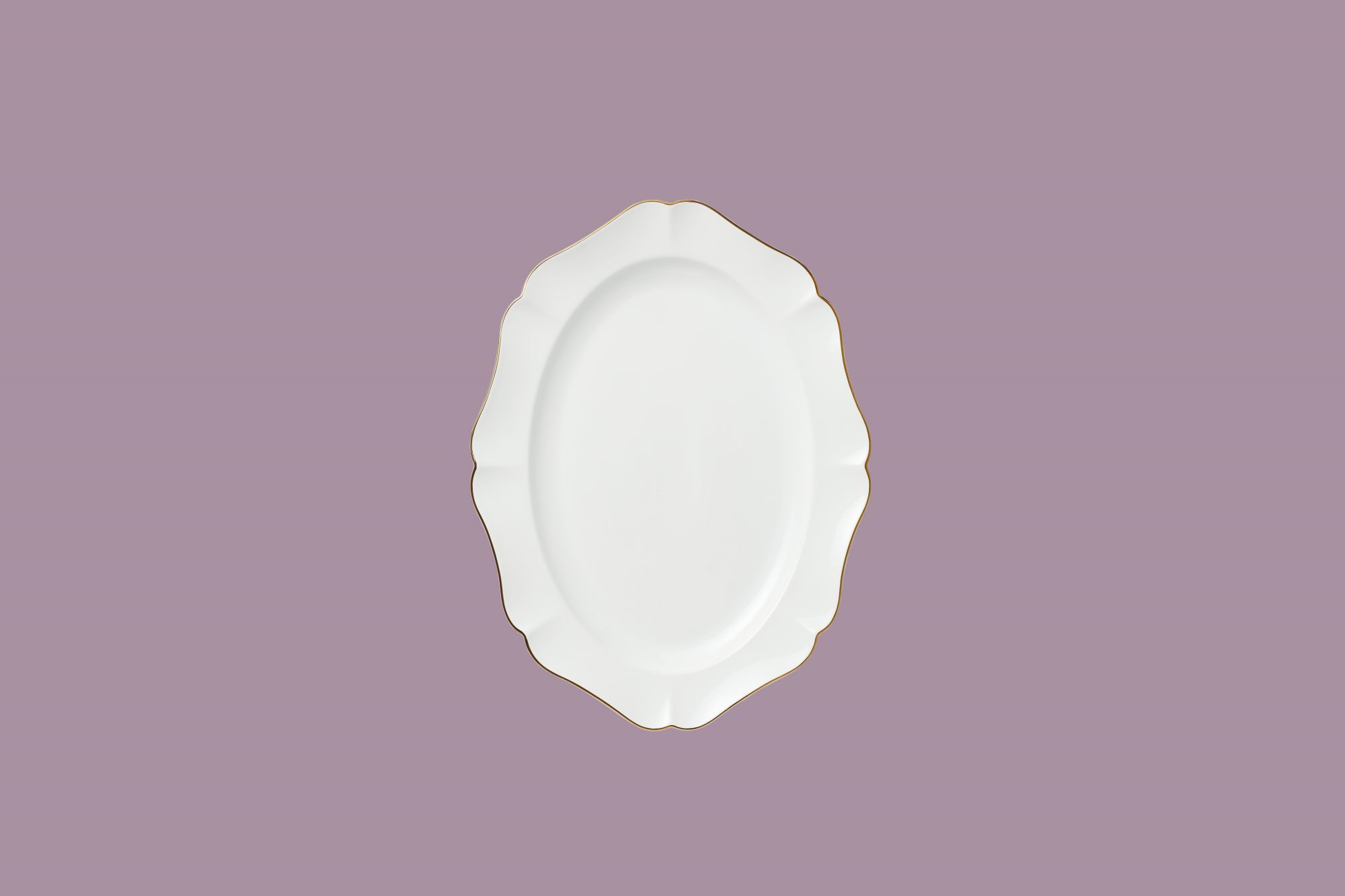 martha stewart collection baroque platter