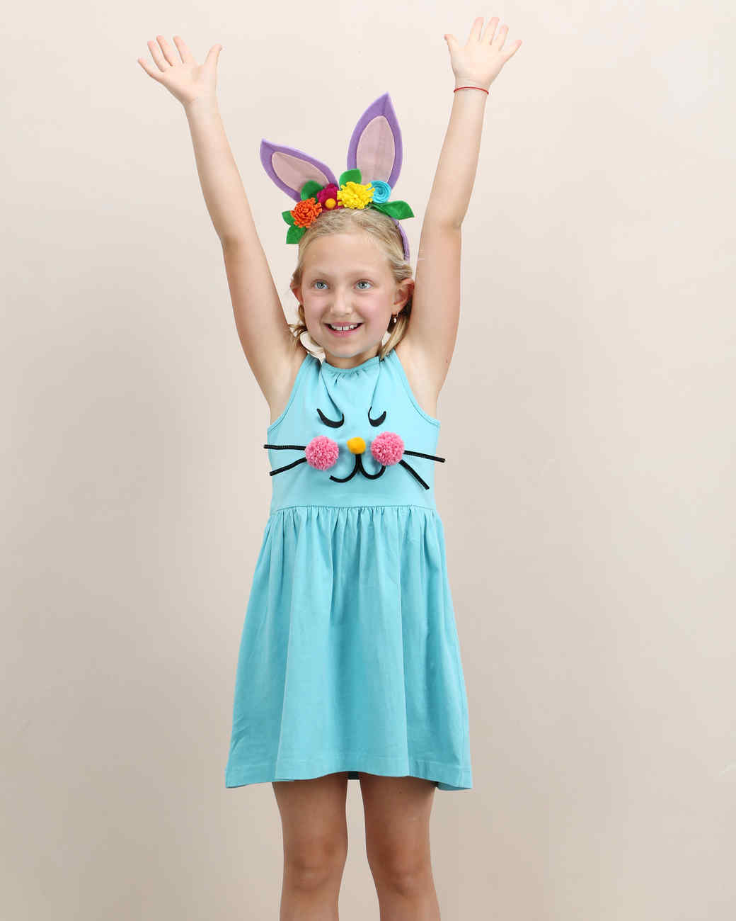 easter kids crafternoon bunny dress