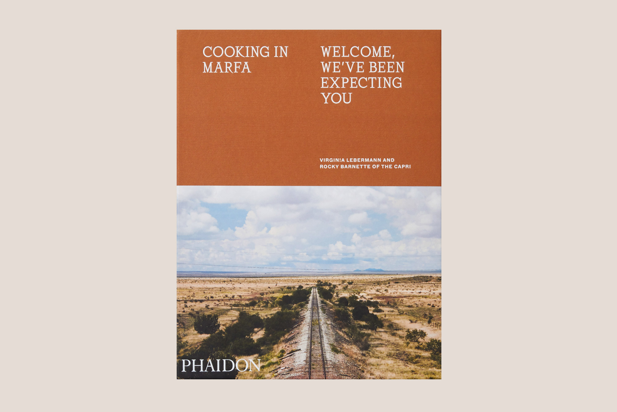 Cooking in Marfa book