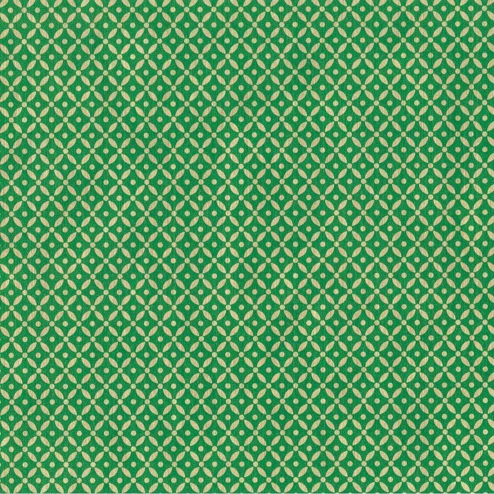 green patterned wrapping paper