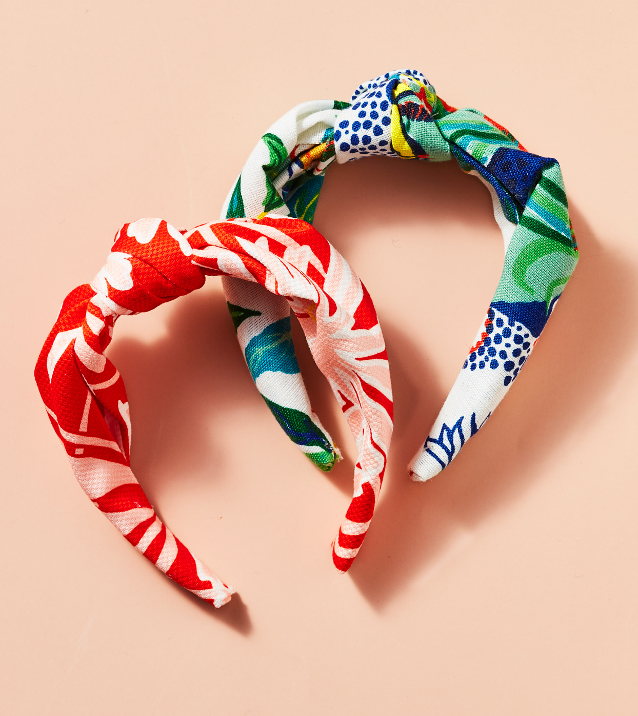 knotted fabric headbands