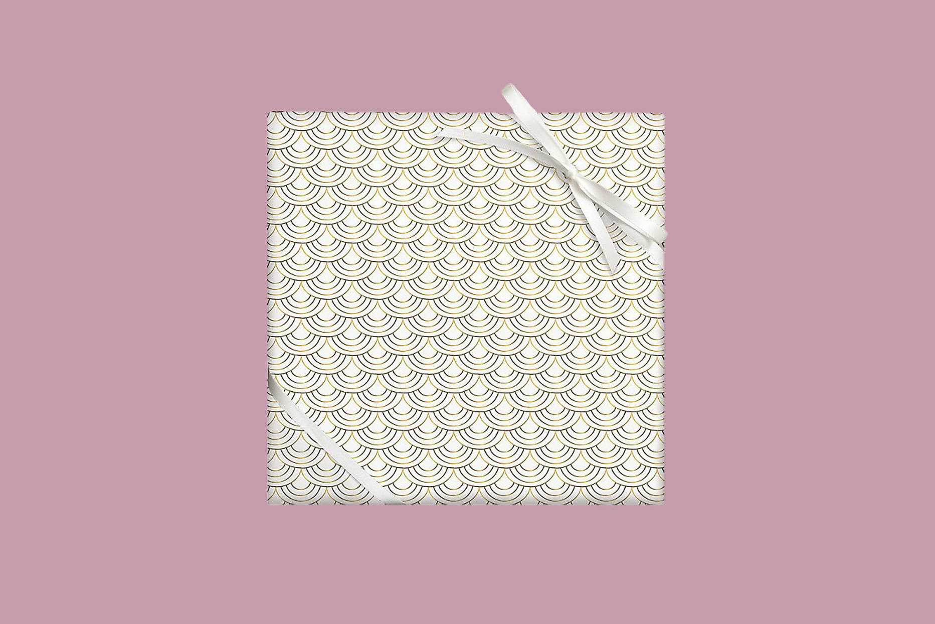 art deco wrapping paper