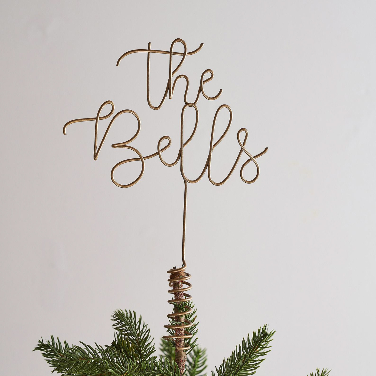 The Letter Loft UK Personalized Wire Tree Topper