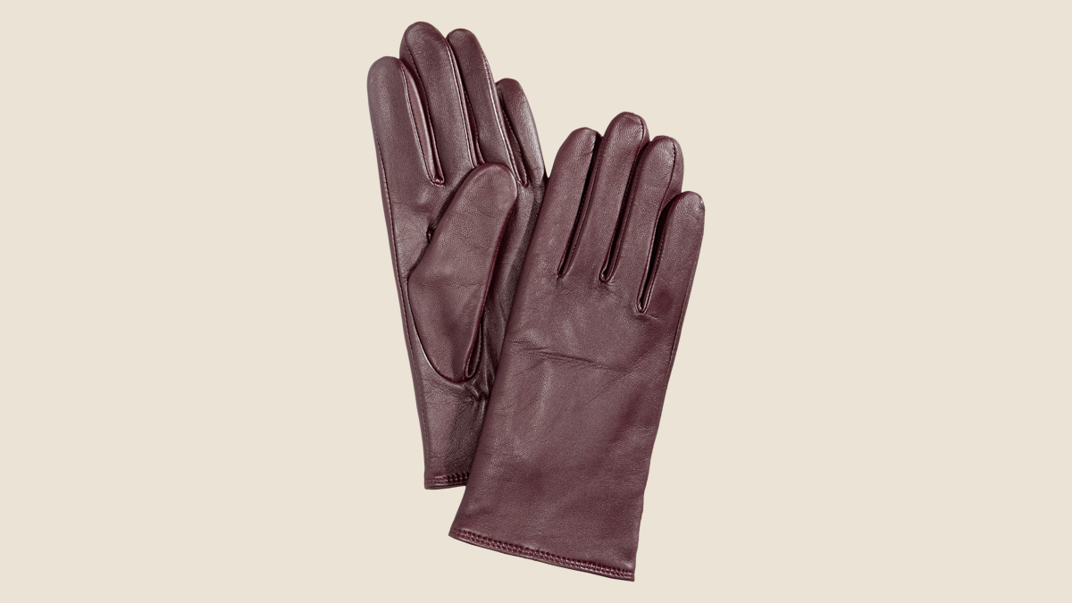 charter club leather tech gloves