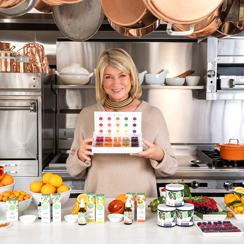 Martha Stewart CBD Collection