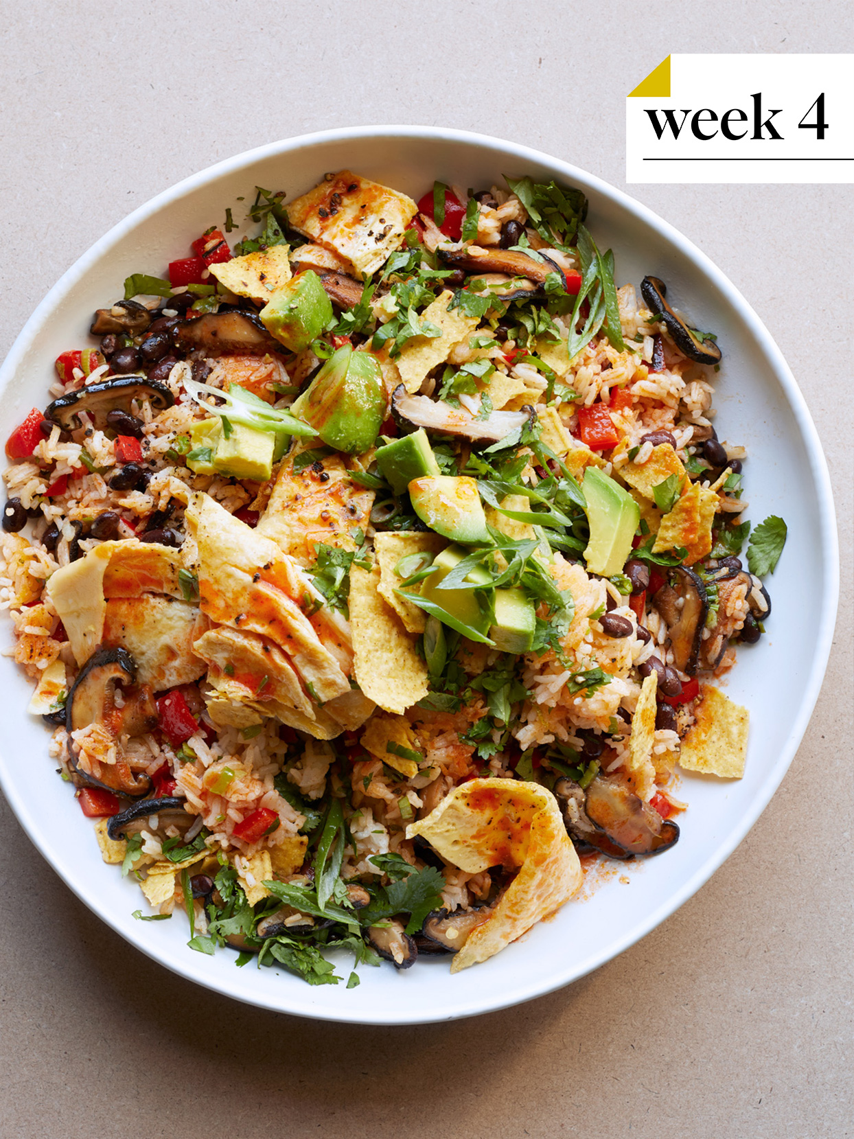 vegetable and black bean fried rice