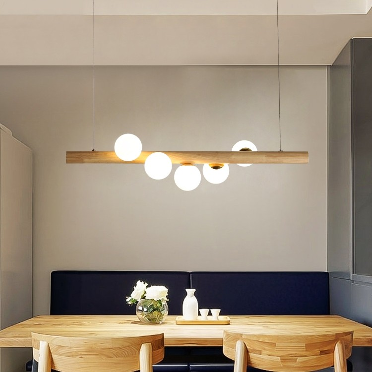 Tram Collection Contemporary Kitchen Island Linear Pendant Light