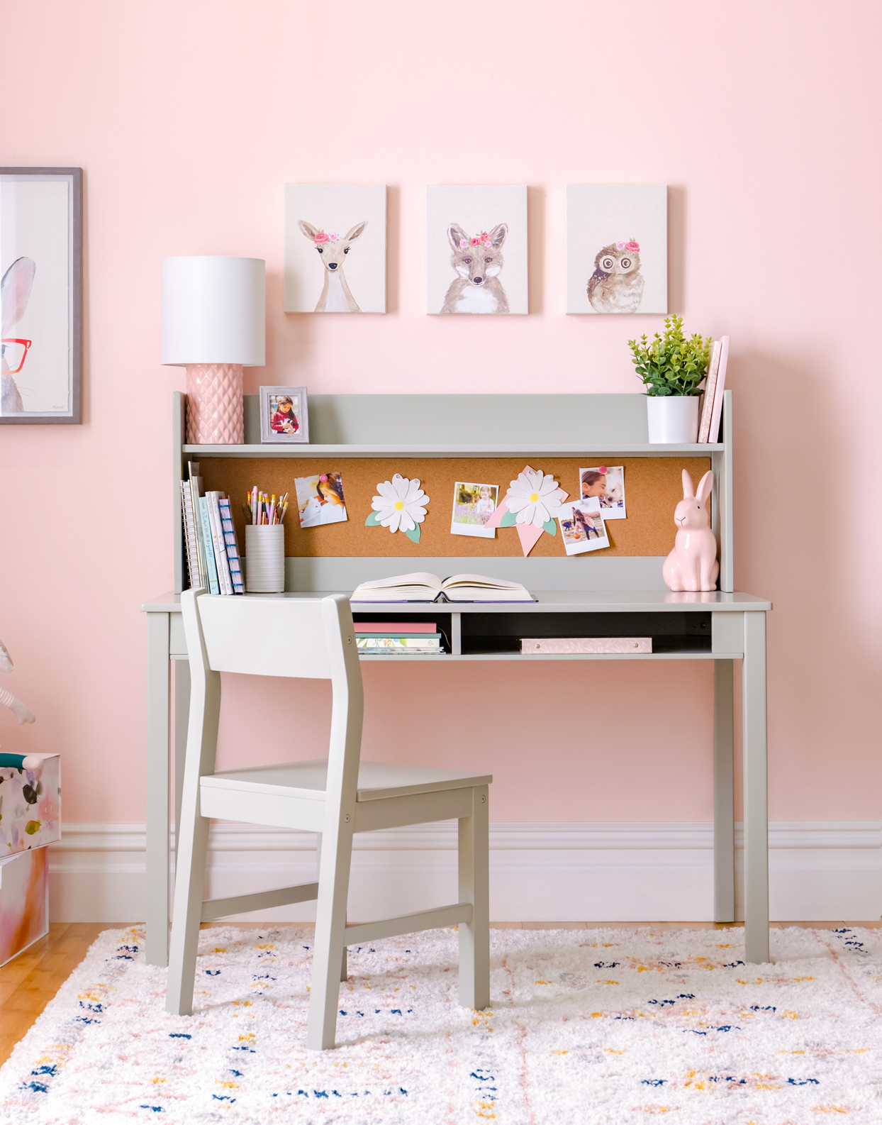 martha stewart living and learning kids desk with hutch and chair