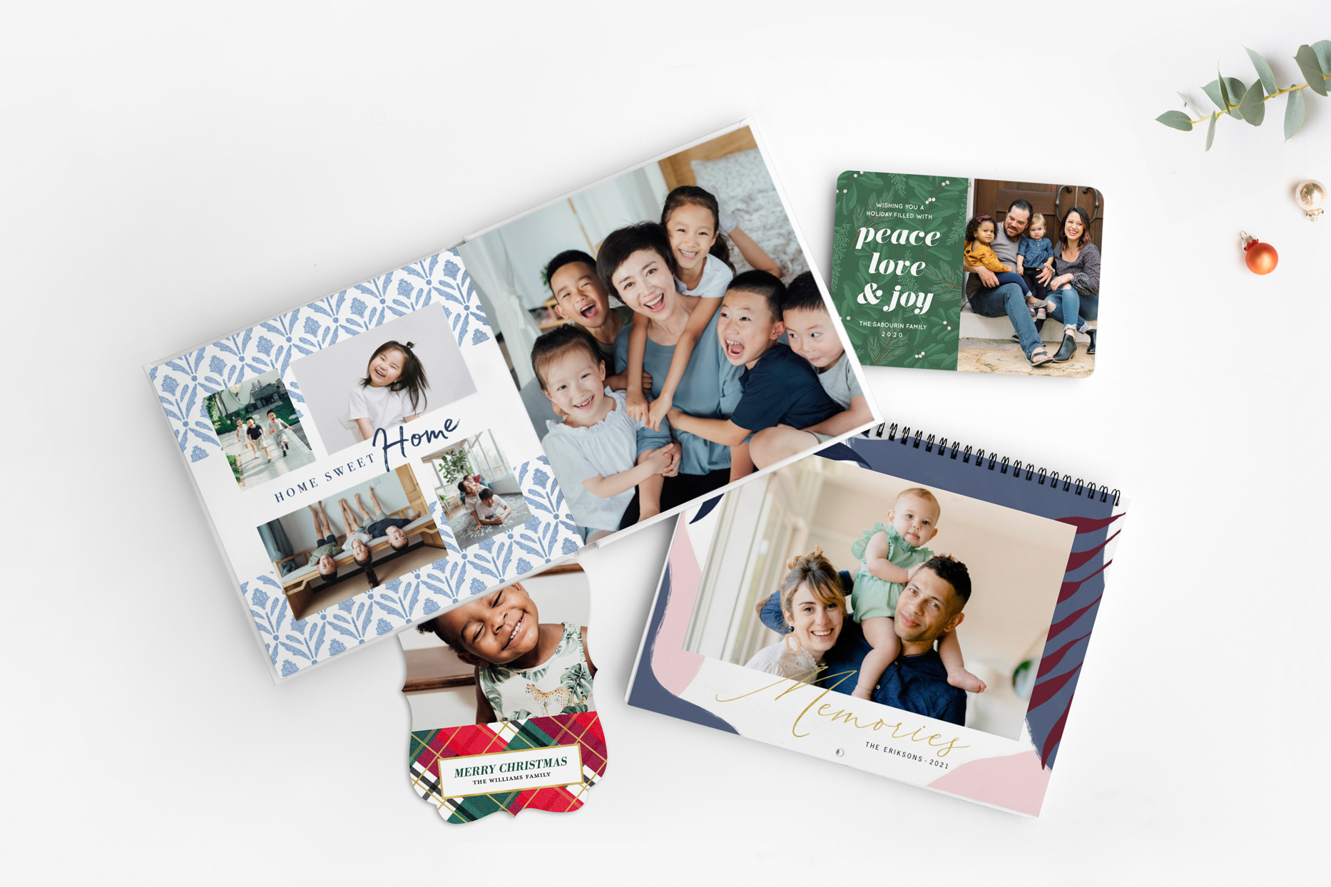 martha stewart mixbook collection holiday cards