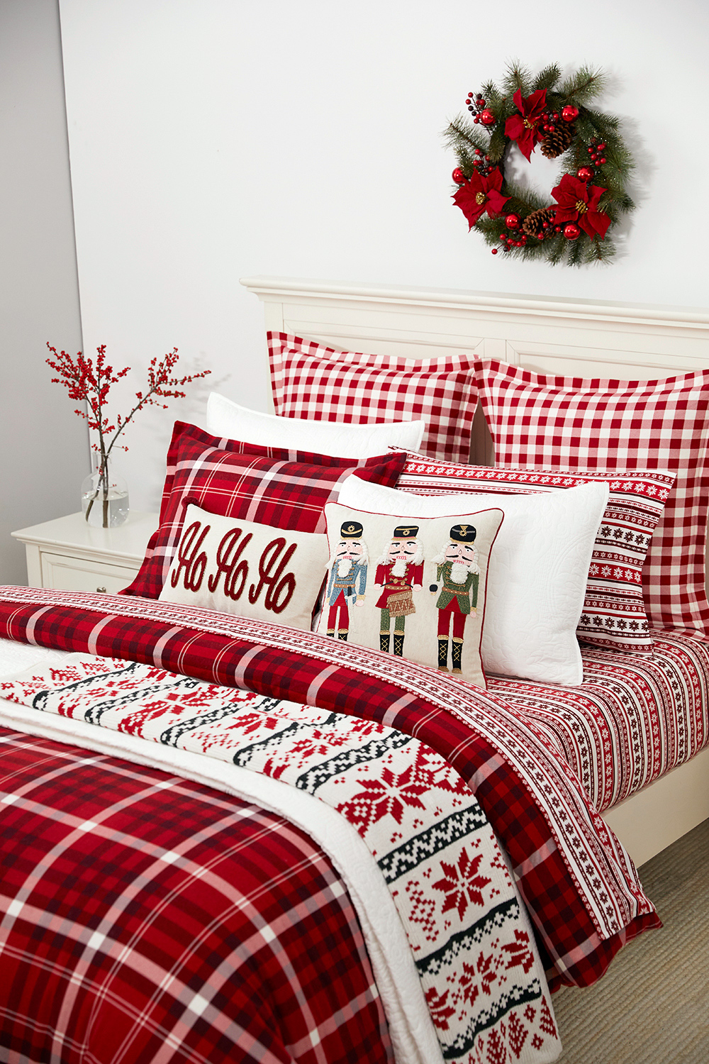 martha stewart collection wyoming plaid bedding collection