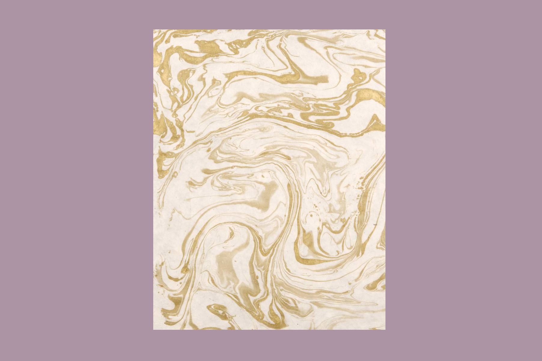 Paper Source Gold on Natural Marble Handmade Paper