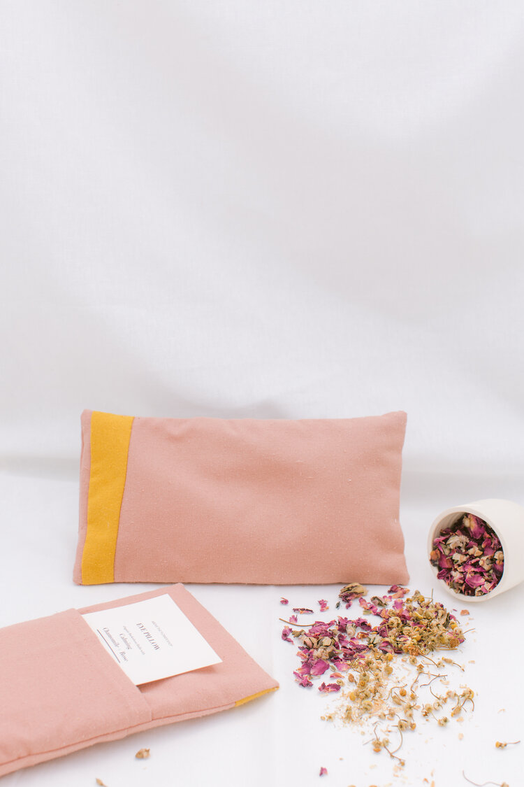 Above the Flower Shop Calming Chamomile + Rose Eye Pillow
