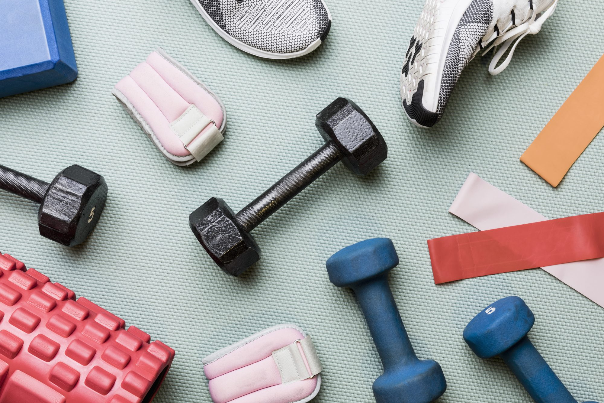 at-home gym equiptment