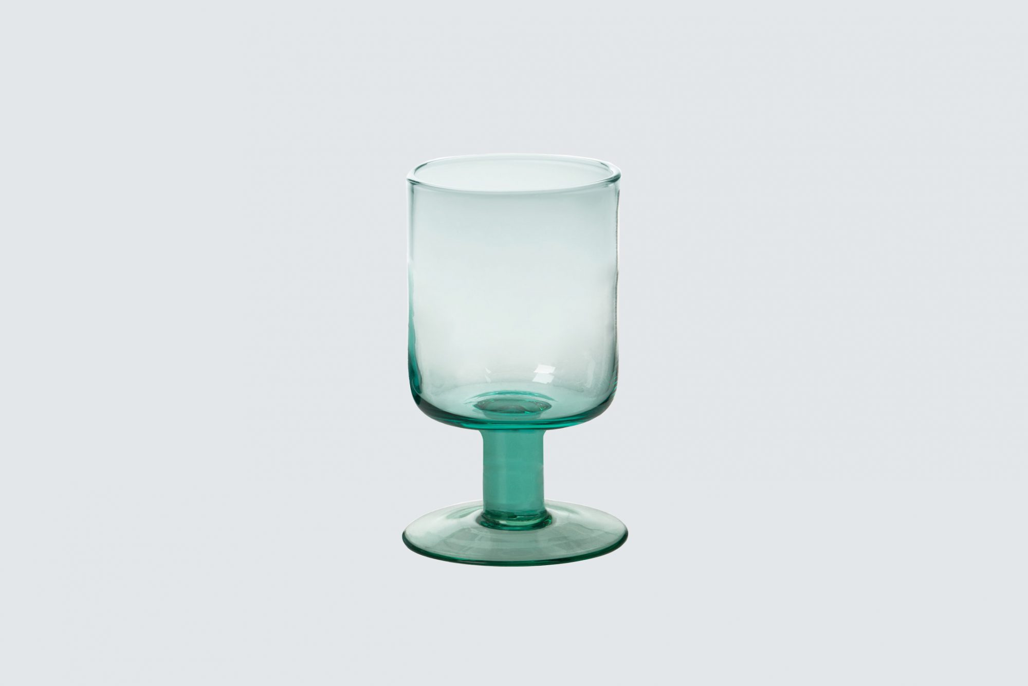 bitossi home bloom wine goblet turquoise