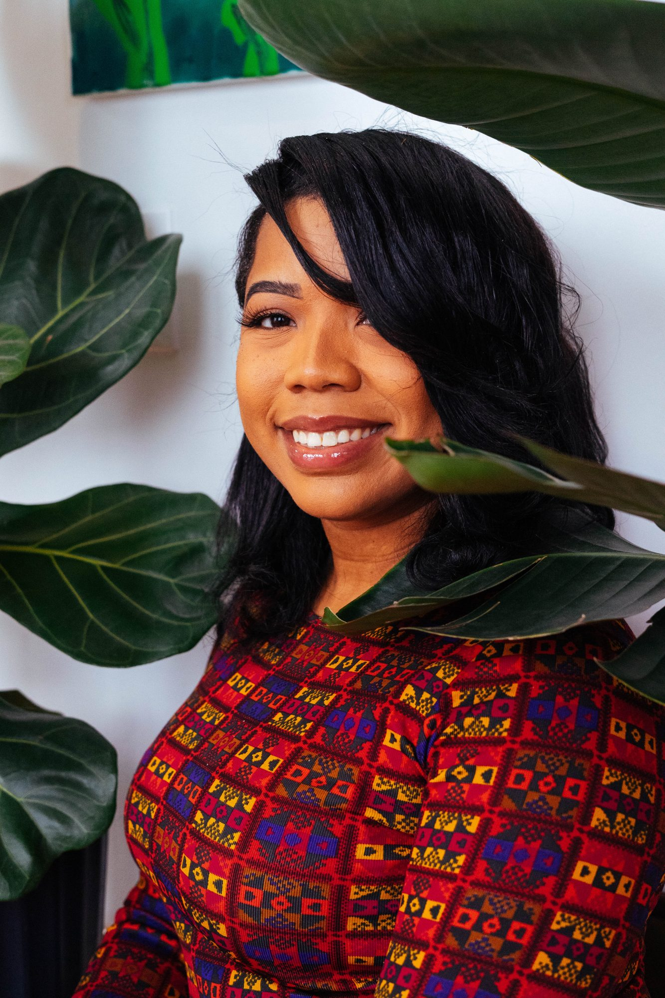 Danuelle Doswell, co-founder of Grounded, the virtual plants shop