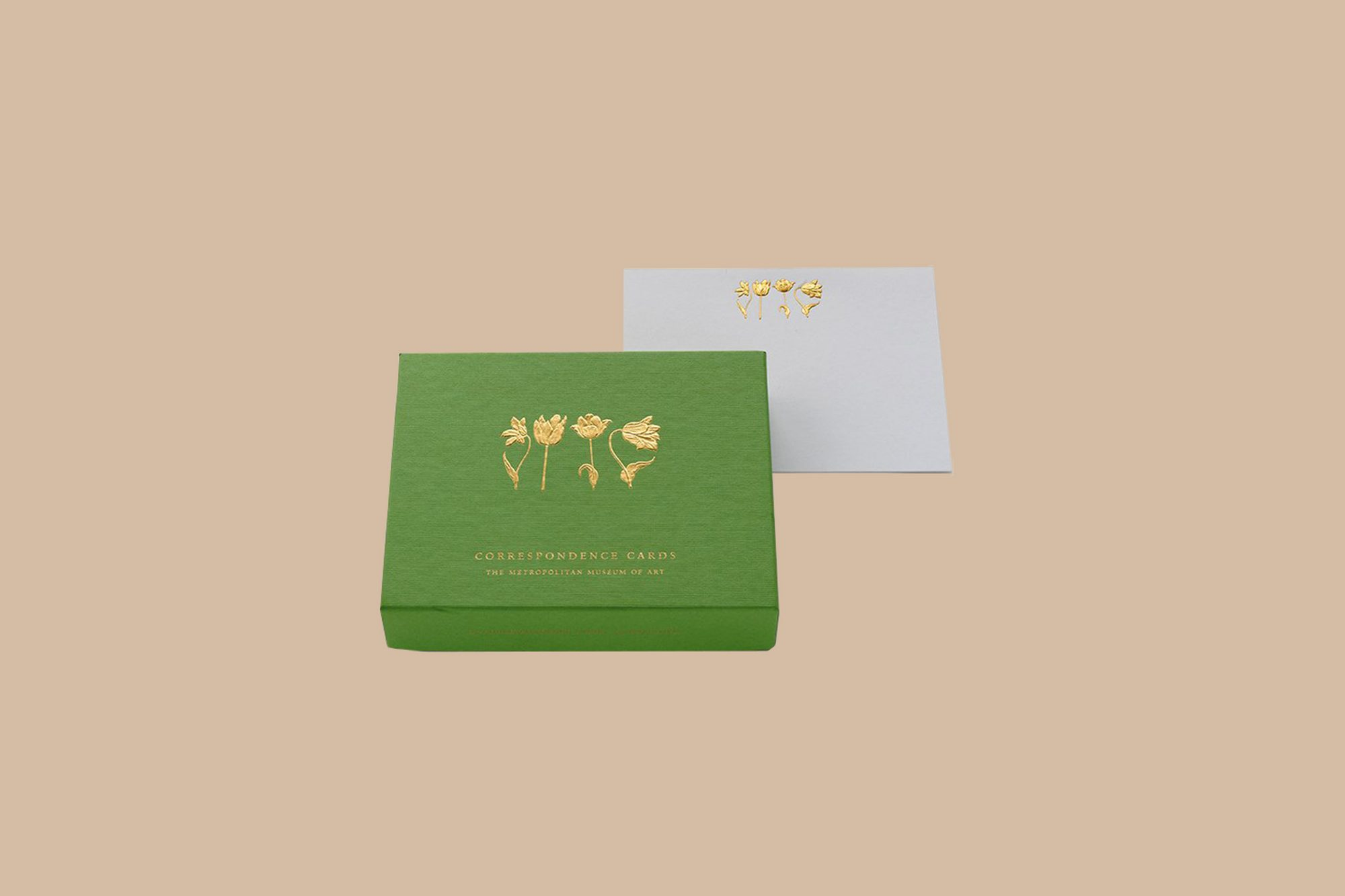 green box of thank you notes