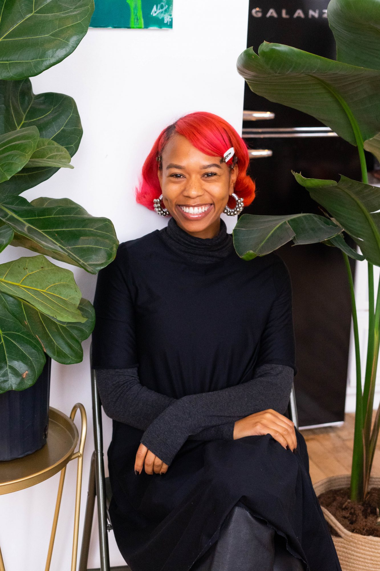 Mignon Hemsley, co-founder of Grounded, the virtual plants shop